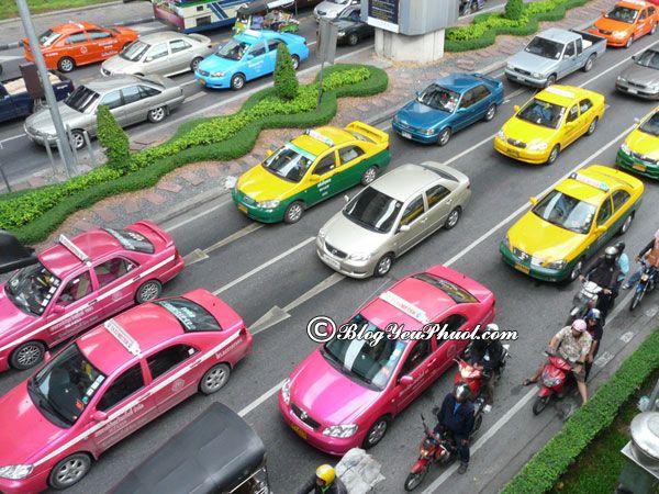 Di chuyển tại Thái Lan bằng phương tiện gì? Các loại phương tiện giao thông ở Thái Lan