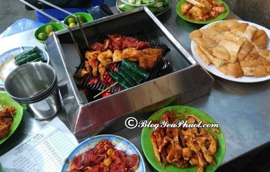 Quán ăn đồ nướng ngon trên phố Thái Hà, Chùa Bộc: Phố Thái Hà, chùa Bộc có quán ăn nào ngon, giá rẻ?
