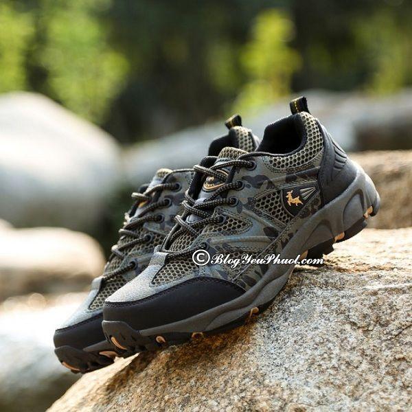 Nên chọn giày leo núi như thế nào? Kinh nghiệm mua giày đi leo núi, trekking