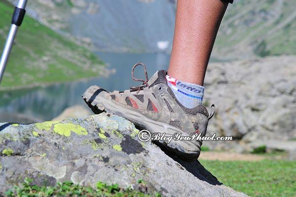 Cách lựa chọn giày leo núi, trekking