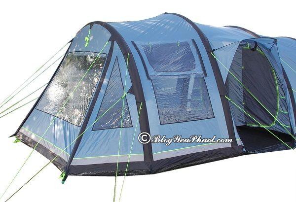 Có bao nhiêu loại lều cắm trại? Kinh nghiệm chọn mua lều đi cắm trại, phượt, du lịch bụi, dã ngoại