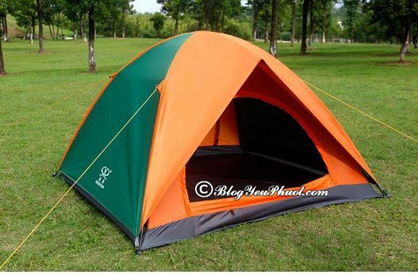 Nên chọn loại lều nào để đi du lịch, cắm trại? Kinh nghiệm chọn mua lều đi du lịch, cắm trại, phượt bụi chuẩn, bền đẹp