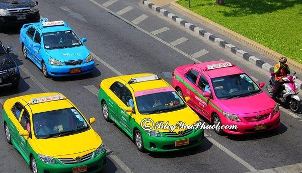 Những phương tiện di chuyển từ sân bay Don Muang tới trung tâm Bangkok