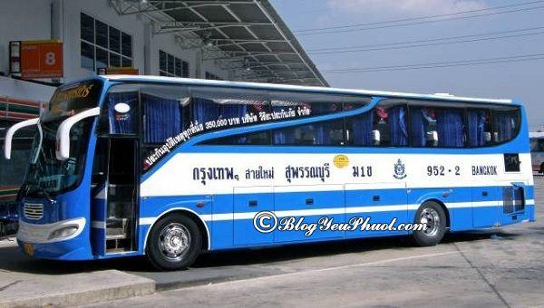 Cách đi từ sân bay Don Muang vào trung tâm Bangkok: Hướng dẫn di chuyển từ sân bay Don Muang tới trung tâm Bangkok