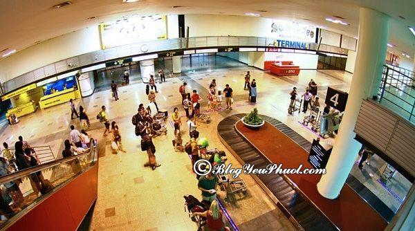 Cách đi từ sân bay Don Muang vào trung tâm Bangkok: Di chuyển từ sân bay Don Muang tới trung tâm Bangkok