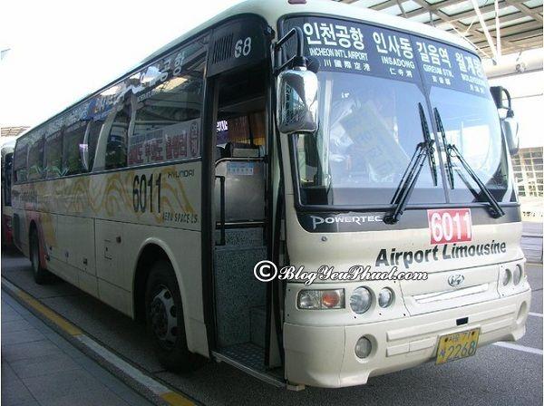 Cách đi từ sân bay Incheon về trung tâm Seoul: Di chuyển từ sân bay Incheon về trung tâm Seoul như thế nào nhanh, giá rẻ?