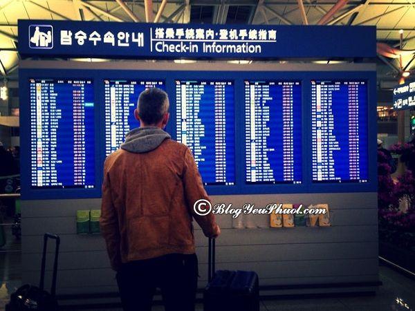Cách đi từ sân bay Incheon về trung tâm Seoul: Kinh nghiệm đi từ sân bay Incheon tới trung tâm Seoul