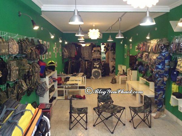 Địa chỉ mua đồ phượt chất lượng ở Sài Gòn: Nơi bán đồ dùng để đi phượt đẹp, độc đáo ở Sài Gòn