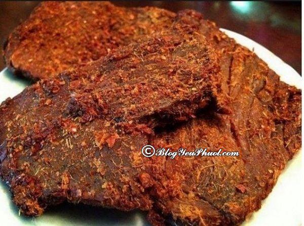 Mua bò khô ở đâu ngon tại Đà Nẵng? Địa chỉ bán thịt bò khô ngon, chất lượng, hấp dẫn nhất ở Đà Nẵng