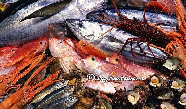 Địa chỉ mua hải sản tươi sống ngon nhất Đà Nẵng mang về làm quà: Mua hải sản ở đâu Đà Nẵng ngon, tươi, giá rẻ?