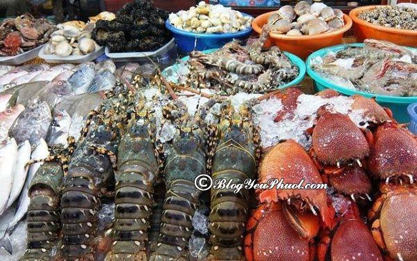 Địa chỉ mua hải sản tươi sống ngon nhất Đà Nẵng