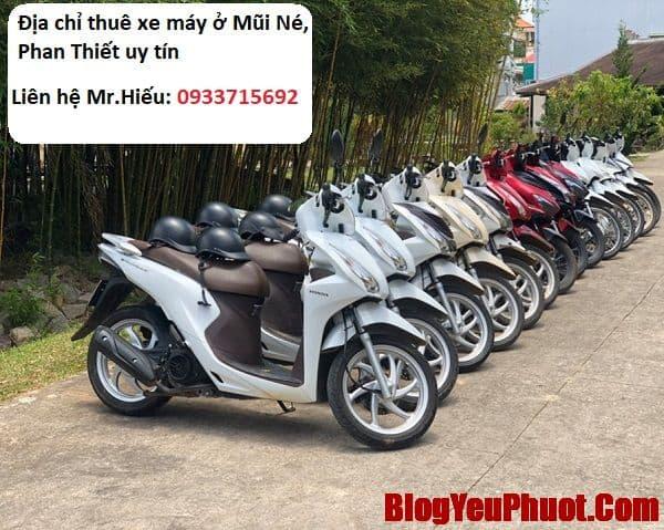 Địa chỉ thuê xe máy ở Mũi Né, Phan Thiết uy tín, giá rẻ