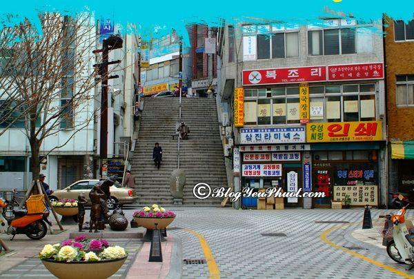 Địa điểm tham quan nổi tiếng ở Busan