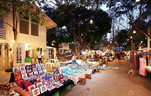 Địa điểm vui chơi hấp dẫn ban đêm ở Hua Hin: Nên đi chơi đâu buổi tối ở Hua Hin?