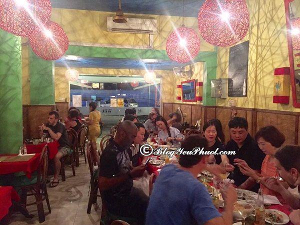 Du lịch Campuchia ăn ở đâu ngon? Quán ăn ngon, đông khách ở Campuchia