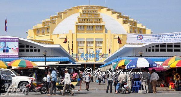 Địa chỉ mua sắm uy tín, giá rẻ ở Campuchia: Nên mua quà gì khi đi du lịch Campuchia và mua ở đâu rẻ, đẹp?