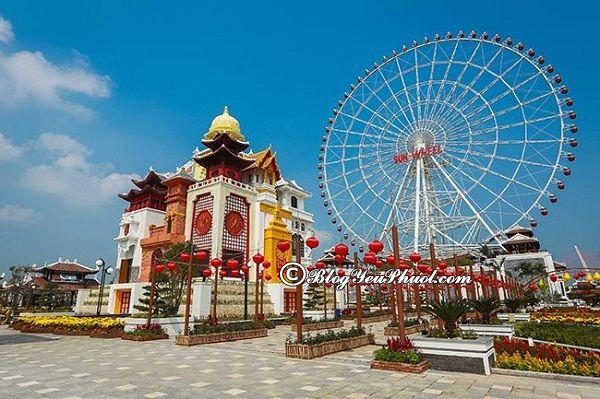 Khu vui chơi Asia Park Đà Nẵng có gì đặc biệt? Những địa điểm tham quan, vui chơi ở công viên Châu Á Đà Nẵng