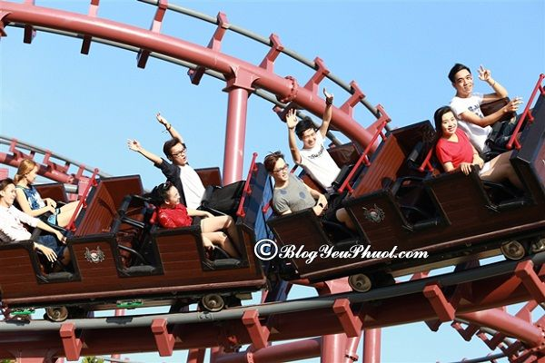Kinh nghiệm đi khu vui chơi Asia Park Đà Nẵng: Địa chỉ và giá vé vui chơi ở công viên Châu Á Đà Nẵng