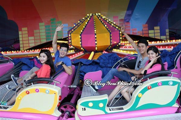 Chơi gì khi đến Asia Park Đà Nẵng? Địa điểm vui chơi, giải trí hấp dẫn, giá rẻ ở công viên Châu Á Đà Nẵng