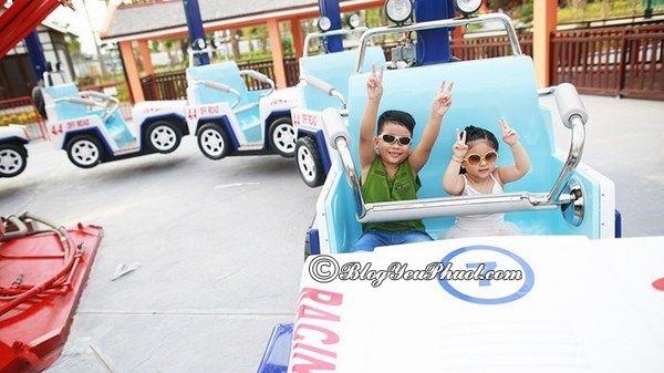 Trò chơi dành cho gia đình ở khu vui chơi Asia Park Đà Nẵng: Những trò chơi thú vị, hấp dẫn ở công viên Châu Á