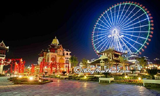 Kinh nghiệm đi khu vui chơi Asia Park Đà Nẵng: Công viên Châu Á Đà Nẵng có trò chơi gì vui?