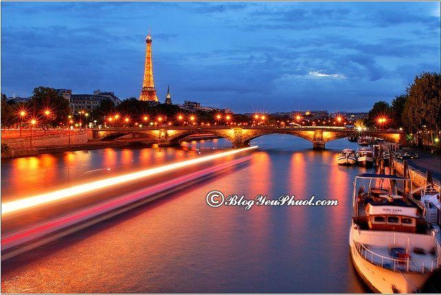 Kinh nghiệm du lịch Paris bằng thuyền: Hướng dẫn đi lại ở Paris