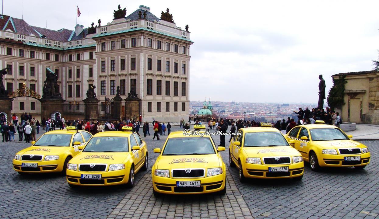 Di chuyển ở Prague như thế nào? Kinh nghiêm đi lại ở Prague nhanh, giá rẻ
