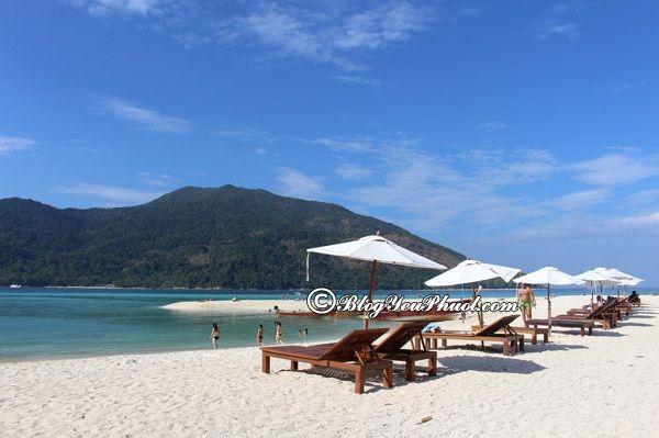 Kinh nghiệm du lịch đảo Koh Lipe giá rẻ: Du lịch đảo Koh Lipe đi đâu chơi, tham quan, ngắm cảnh, chụp ảnh đẹp?