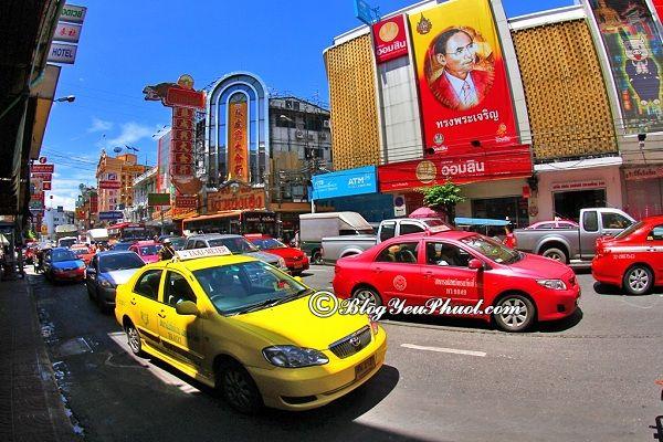 Kinh nghiệm thăm chùa Vàng Wat Traimit Bangkok: Du lịch chùa Vàng Wat Traimit Bangkok bằng phương tiện gì nhanh?