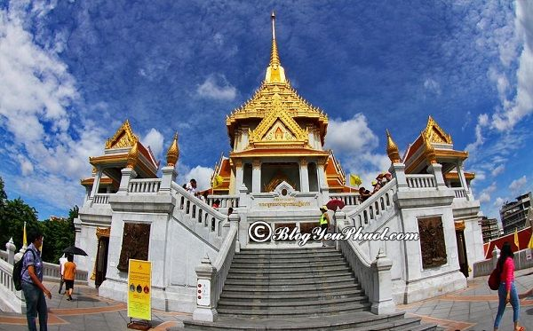 Kinh nghiệm thăm chùa Vàng Wat Traimit Bangkok