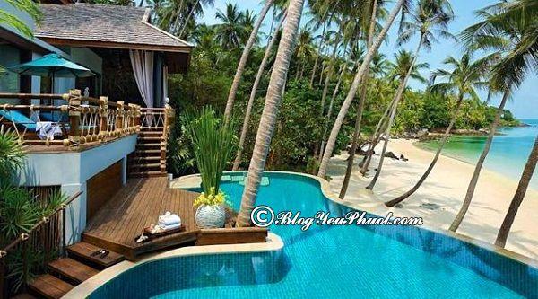 Ở đâu khi du lịch đảo Koh Samui? Khách sạn, resort ở Koh Samui đẹp, tiện nghi, giá tốt
