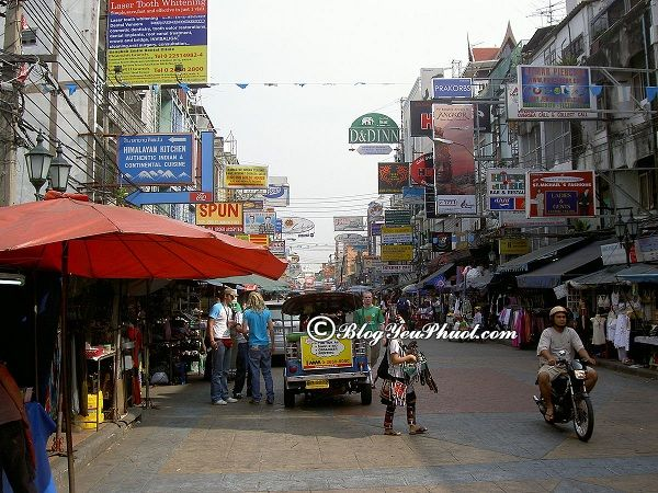Nên du lịch Khao San vào thời điểm nào, tháng mấy? Hướng dẫn tour du lịch Khao San Bangkok giá rẻ