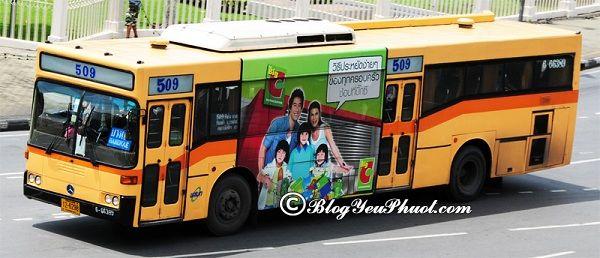 Phương tiện di chuyển đến Khao San: Du lịch Khao San Bangkok bằng phương tiện gì nhanh, giá rẻ?