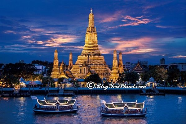 Làm sao để di chuyển đến Khao San du lịch? Danh lam thắng cảnh đẹp, nổi tiếng ở Khao San Bangkok