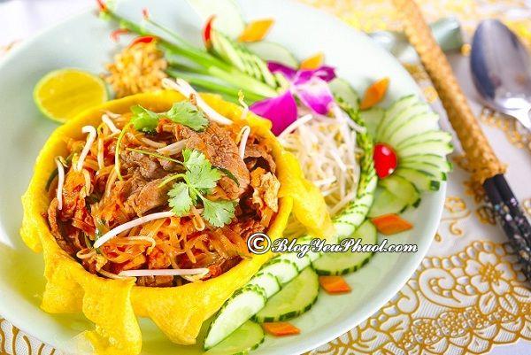 Du lịch Khao San ăn gì ngon? Món ăn ngon đặc sản nổi tiếng ở Khao San Bangkok