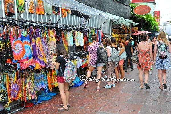 Kinh nghiệm du lịch Khao San Bangkok tự túc, giá rẻ: Hướng dẫn, tư vấn lịch trình tham quan, vui chơi, ăn uống ở Khao San Bangkok