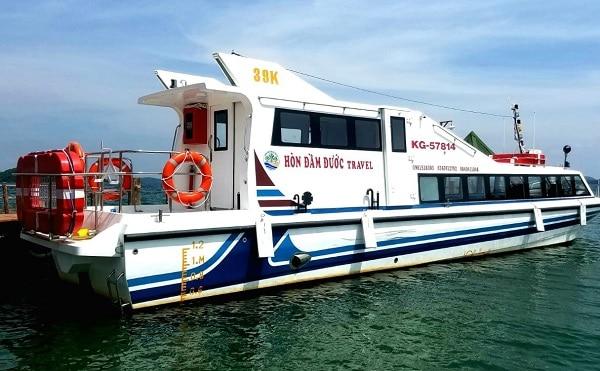 Cách đi từ Sài Gòn tới quần đảo Bà Lụa: Giá vé tàu đi du lịch quần đảo Bà Lụa bao nhiêu?