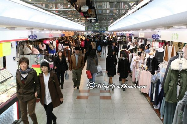 Kinh nghiệm mua sắm ở Seoul: Địa chỉ mua sắm sang chảnh, hấp dẫn nhất Seoul