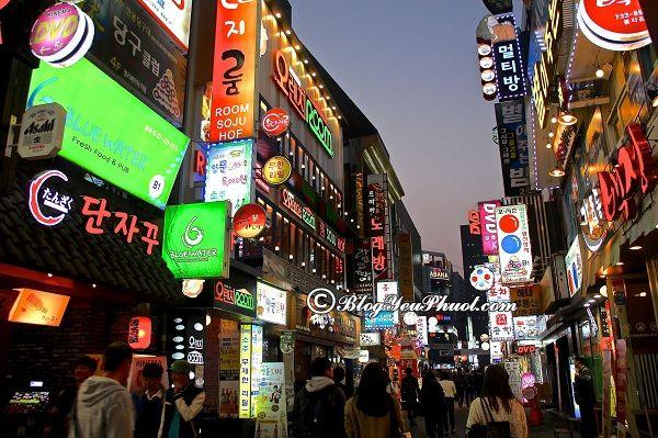 Kinh nghiệm mua sắm khi du lịch Seoul: Mua sắm ở đâu khi du lịch Seoul giá tốt, mẫu mã đẹp?