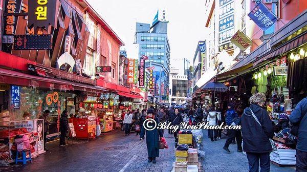 Kinh nghiệm mua sắm khi du lịch Seoul: Địa chỉ các khu chợ, trung tâm mua sắm nổi tiếng ở Seoul