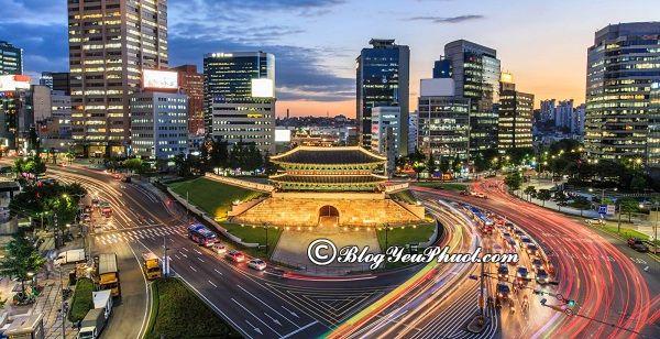 Kinh nghiệm mua sắm khi du lịch Seoul