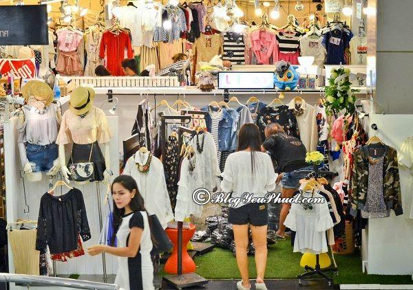 Lưu ý khi mua sắm ở Bangkok: Mua sắm ở đâu khi đi du lịch Bangkok