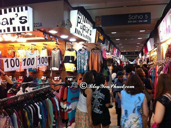 Kinh nghiệm mua sắm ở Bangkok: Du lịch Bangkok đi đâu mua sắm?