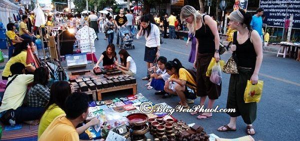 Lưu ý khi mua sắm ở chợ đêm Phuket: Địa chỉ chợ đêm Phuket, Thái Lan