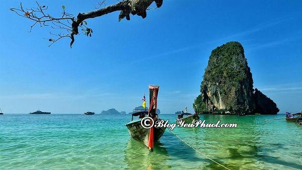 Lịch trình du lịch krabi 3 ngày 2 đêm: Du lịch Krabi 3 ngày 2 đêm nên đi đâu chơi?