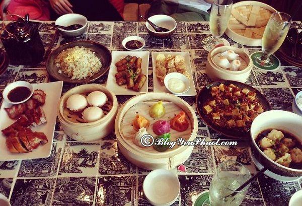 Nhà hàng quán ăn ngon ở Thượng Hải