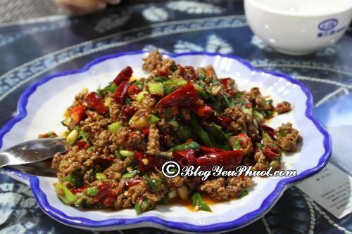 Đến Thượng Hải ăn ở đâu ngon? Địa chỉ nhà hàng, quán ăn đặc sản ngon ở Thượng Hải?
