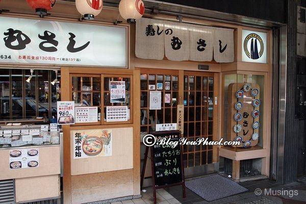 Du lịch Kyoto ăn ở đâu ngon? Địa chỉ nhà hàng, quán ăn ngon, giá rẻ ở Kyoto
