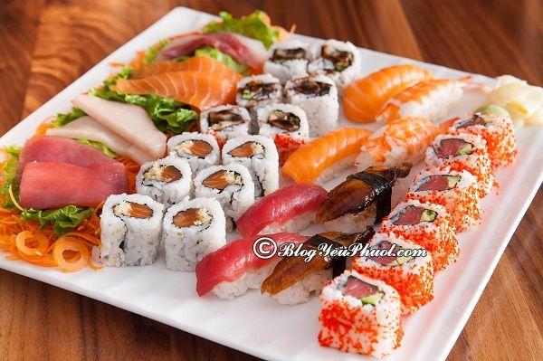 Nhà hàng sushi ngon nhất tại Nha Trang: Ăn sushi ở đâu Nha Trang nổi tiếng, giá rẻ?