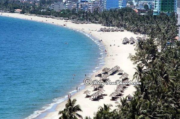 Những bãi biển đẹp nhất Nha Trang: Nha Trang có bãi tắm nào nổi tiếng?
